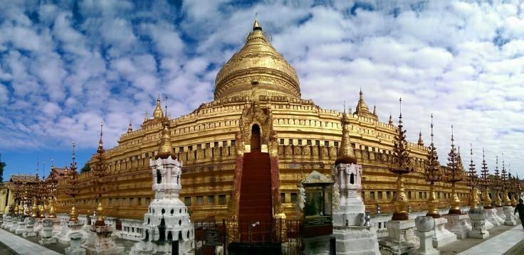 Mây ở Myanmar siêu đẹp - Shwezigon Pagoda