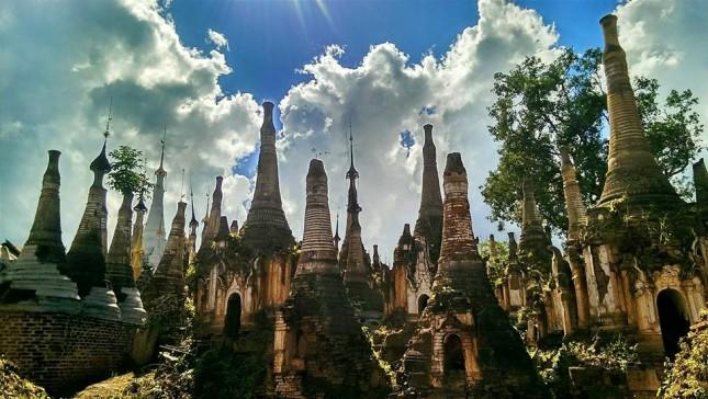 Indein - Inle - hơn 1000 stupa cổ